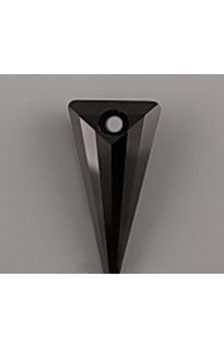 Кристалл подвеска SPIKE 6480 18мм JET