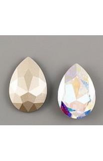 Кристалл Pear Flat 4327 30mm Crystal AB F