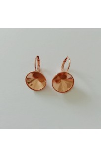 Серьги (швензы) короткие на Dentelle 1200 13мм ROSE GOLD