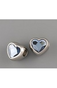 BeCharmed Swarovski Elements 181951 Сердце 13мм Denim Blue СПЕЦЦЕНА!