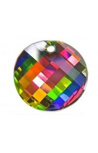 Кристалл подвеска Twist 6621 18мм crystal vitrail medium