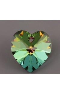 Кристалл подвеска XILION HEART 6228 14,4x14мм CRYSTAL VM