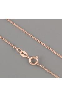 Цепочка Rita Ag925 c позолотой розовое золото