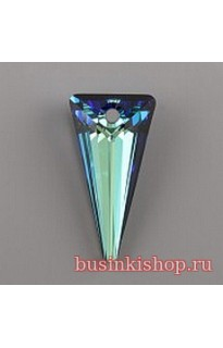 Кристалл подвеска SPIKE 6480 18мм Bermuda Blue P