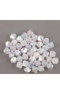 Бусины XILION BEADS 5328 6мм White Opal AB