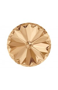 Кристалл Rivoli 1122 12мм Crystal Golden Shadow F