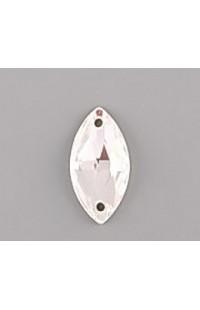 Стразы пришивные NAVETTE Swarovski Elements 3223 18мм Crystal F