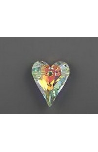 Кристалл подвеска WILD HEART 6240 17мм CRYSTAL AB