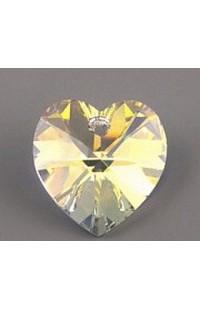 Кристалл подвеска XILION HEART 6228 10,3x10мм CRYSTAL AB