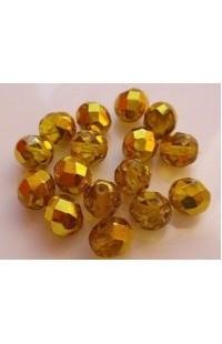 Бусины желто-золотые