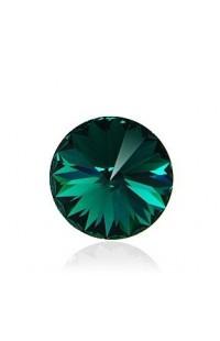 Кристалл Rivoli 1122 12мм Emerald F